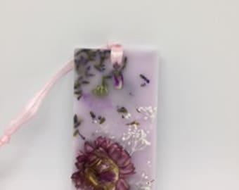 Lavender rosemary wax sachet