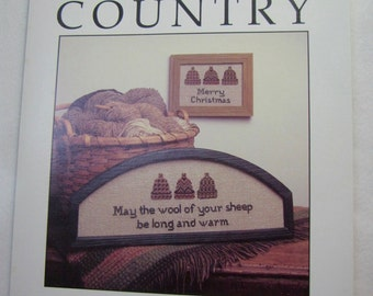 "Cedar Hill ""Country"" Cross Stitch Pamphlet"