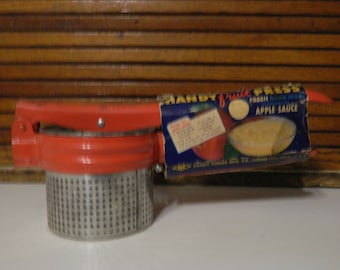 Vintage Fruit press and potato ricer still in original package