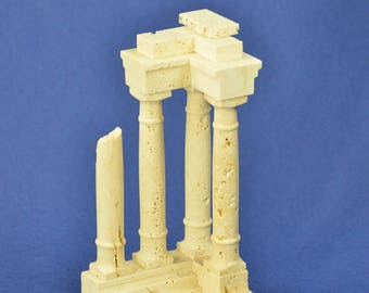 """Reconstruction of Travertine marble Ruins """"Colonna"""""""