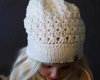 Crochet PATTERN - Sifton Slouchy Crochet Hat Pattern Includes 6 Sizes Girls thru Ladies