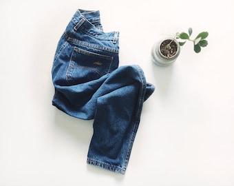 Vintage High Rise 90s Jeans // 24/25
