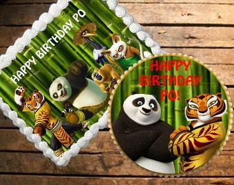 Kung Fu Panda Edible Cake Topper