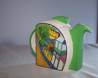 Vintage Art Deco Style Teapot