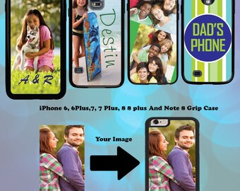 Customized Photo Picture Phone Cover Case Fits iPhone X, iPhone 8,iPhone 8 plus, iPhone 7,iPhone 7 plus