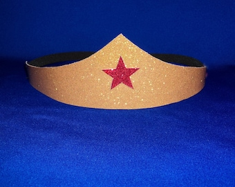 New  Wonder Woman Costume Accessory  TIARA