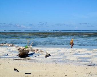 Beachcomber Beach in Zanzibar, Tanzania, photography