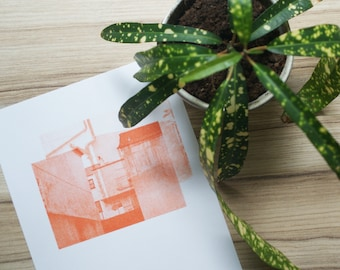 Screenprinted photo series - printed onto A5 paper (Approximately) Multiple image