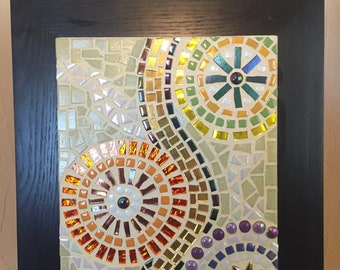 Contemporary Design Mosaic Wall Hanging