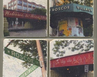 Roscoe Village Collection - Original Coasters