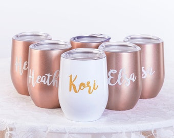 Bridesmaid Gift Set Wedding Favors not ideas day box spade my cheap for good will be from to bride kate on you Bachelorette Party of 5 6 7 4