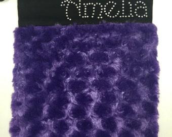 Purple Cotton Candy Grip Bag