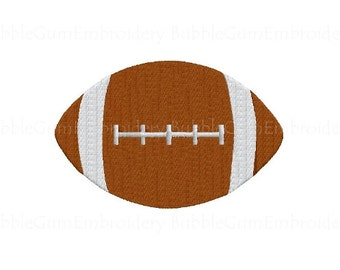 Football Embroidery Design Instant Download