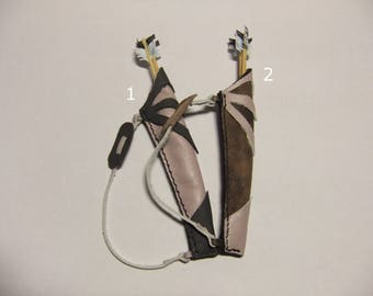 Quiver two-tone leather for BJD