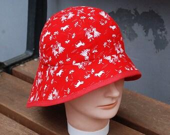 Sun hat Red/Chapeau de soleil
