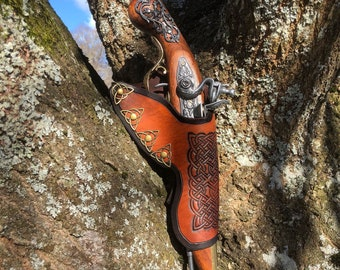 Celtic knotwork - Flintlock holster