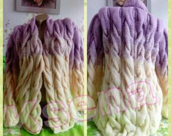 Lalo cardigan Knit Cardigan Hand Knit Lalo Women's cardigans Knitted cardigan women Chunky knit cardigan Wool long cardigan Oversized knit