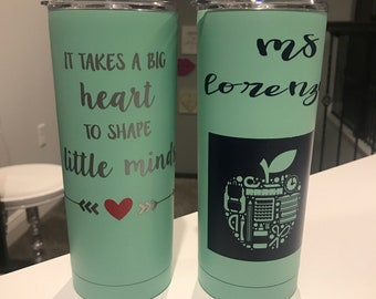 Custom Teacher Appreciation Tumblers