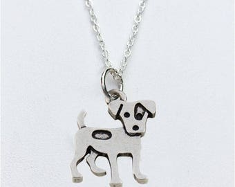 Jack Russell Charm Necklace