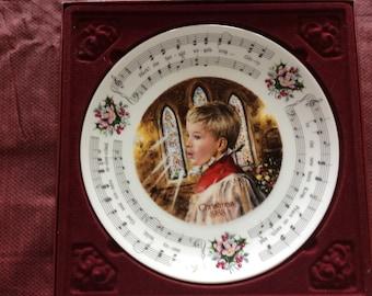 Royal Doulton Christmas Carol plate 1988