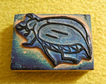 Rubber stamp insect - Beetle - scarab