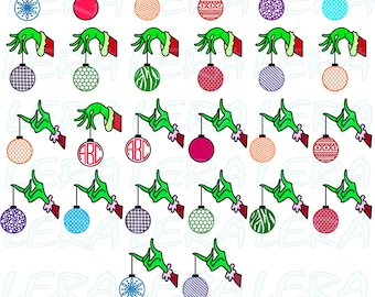 60 % OFF,  Christmas Svg, Christmas Monogram Svg, The Grinch SVG, Grinch Svg, Dxf, Eps, Png files, Chevron SVG, Grinch christmas svg