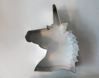 UNICORN  Cookie Cutter 4.75 inches