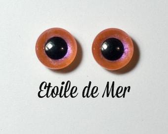 Eyechips 13 mm - Coloris Etoile de Mer   Taille Pullip Modèles Récents