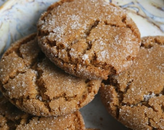 Soft Molasses Cookie (TWO DOZEN)