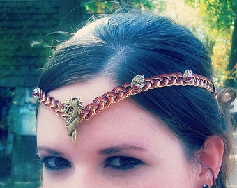 Dragon Lady Circlet Crown Custom Colors