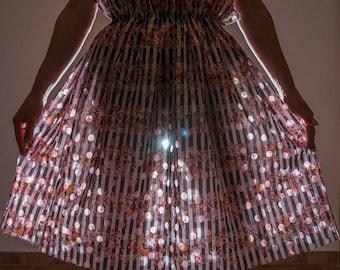 Linen skirt, skirt, summer skirt, Mini skirt, boho skirt, colorful skirt, skirt cotton, gypsy skirt, skirt with floral print, custom, mini