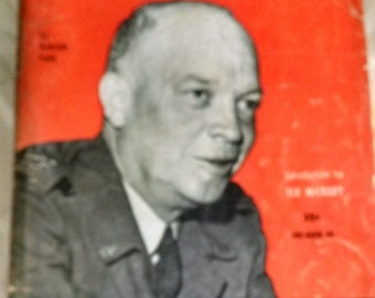 Ike, Man Of The Hour, By Rudolf Field/ Vintage Paerback