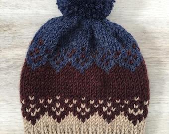Tribal Knit Beanie