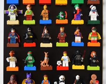 Original LEGO Minifigure Display Magnetic Board, Lego display, Lego Board, Lego Decor, Magnet Board