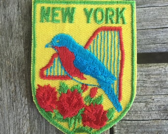 New York Vintage Travel Patch by Voyager