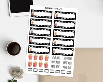 Movie Clip Stickers