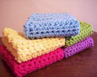 Simple Crochet Dish Cloth Pattern | Crochet Dish Cloth Pattern | Easy Crochet Dishcloth Pattern | Easy Crochet Pattern | PDF Download