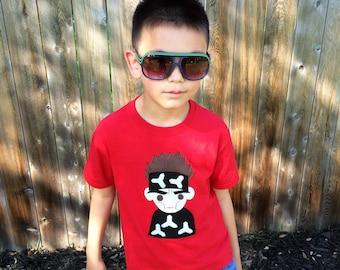 Who's The Supermodel!? - Kids {Red} Shirt - Children's Clothing Gift
