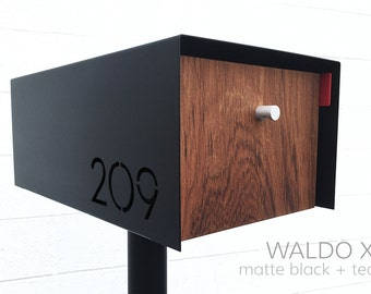 Waldo XL Modern Mailbox