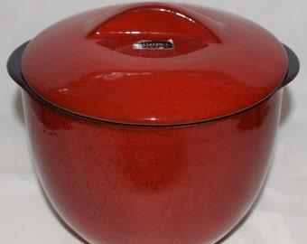 Marei 8215/2 Design Ceramic pot lid can 60s WGP vintage Artpottery MCM