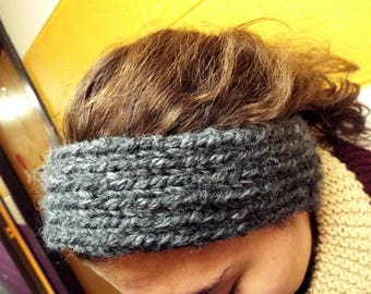 Knit and Purled Thick Yarn Headband