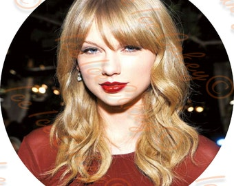 Taylor Swift Round Topper