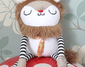 LION! Custom Made Plush Lion Toy - Infants/Toddlers/Children