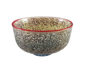 Kosta Boda Art Glass Bowl - Signed Bertil Vallien