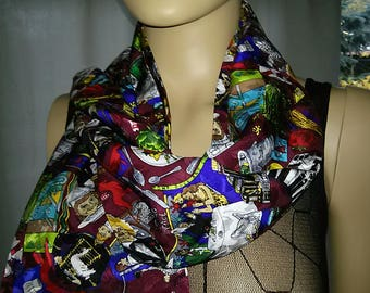 Silk Scarf 27 CMB-1.40 long from pomp, duck Circumstances