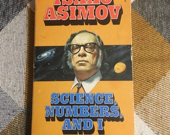 Vintage 1976 Science Numbers and I Isaac Asimov Paperback Book