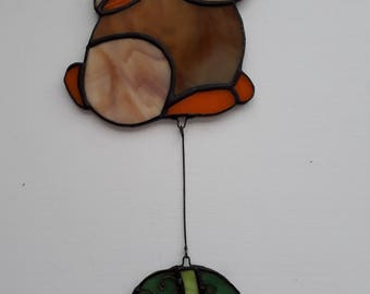 Stained Glass Easter Bunny