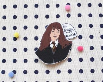 Hermione Granger brooch