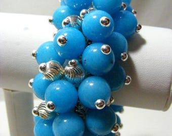 Turquoise Quartzite Cha Cha Bracelet