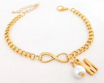 Infinity Bracelet, Bracelet, Bridesmaids, Wedding